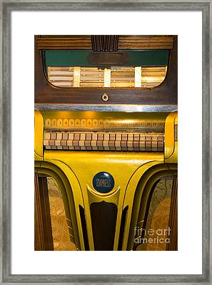 Old Vintage Mills Empress Jukebox Dsc2790 Framed Print