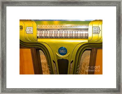 Old Vintage Mills Empress Jukebox Dsc2791 Framed Print