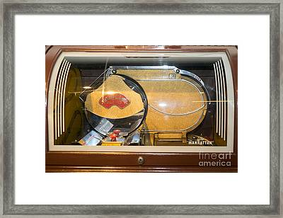 Old Vintage Packard Pla-mor Jukebox Dsc2799 Framed Print