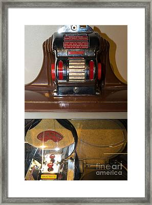 Old Vintage Packard Pla-mor Jukebox Dsc2800 Framed Print
