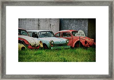 Old Volks Home Framed Print