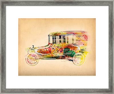 Old Volkswagen3 Framed Print by Mark Ashkenazi
