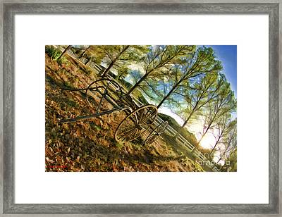Old Wagon Framed Print