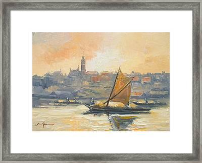 Old Warsaw Framed Print