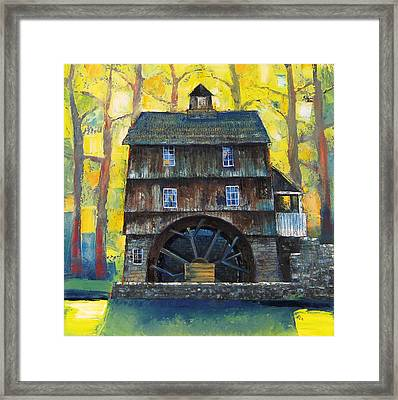 Old Water Mill Framed Print by Mikhail Zarovny