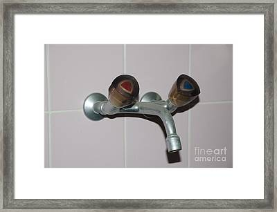 Old Water Tap Framed Print by Mats Silvan