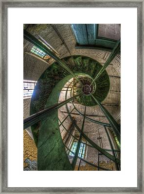 Old Water Tower Perspective  Framed Print
