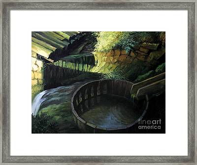 Old Watermill Framed Print by Kiril Stanchev