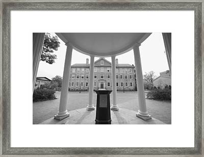 Old Well And South Building - Carolina Photo - Unc Framed Print