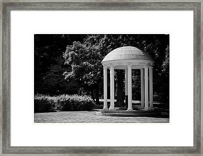 Old Well At Unc Framed Print