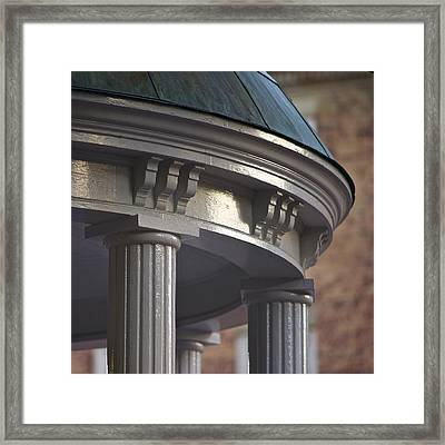 Old Well In Detail - Unc - Chapel Hill Framed Print by Matt Plyler