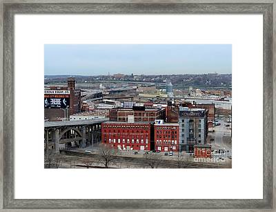 Old West Bottoms Kcmo Framed Print by Liane Wright