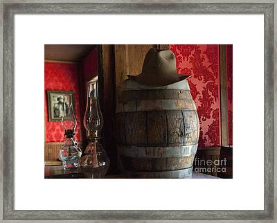Old West Saloon Framed Print by Juli Scalzi