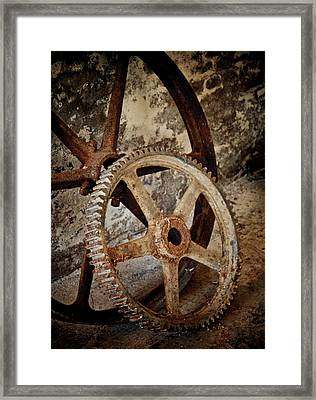 Old Wheels Framed Print by Odd Jeppesen