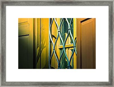 Old Window Framed Print by Alexander Senin
