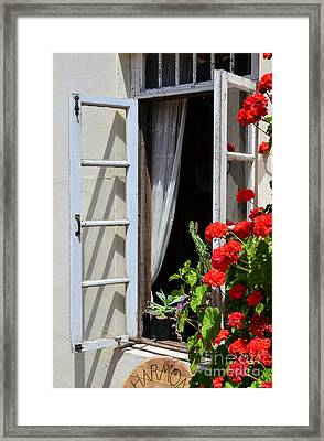 Framed Print featuring the photograph Old Window by Debby Pueschel