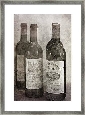 Old Wines Framed Print by Georgia Fowler