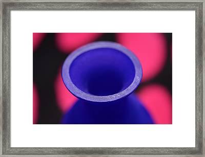 Old Winy Bottle Framed Print by Tommytechno Sweden