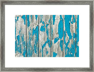 Old Wood Framed Print by Tom Gowanlock