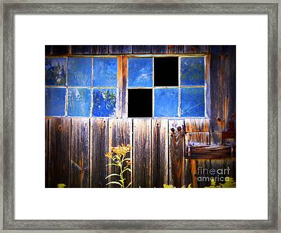 Old Wooden Building Of Broken Dreams Framed Print