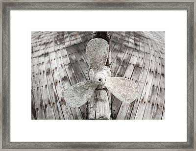 Propeller Framed Print