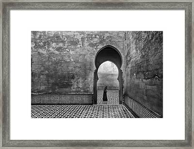 Old World Framed Print by Ali Khataw