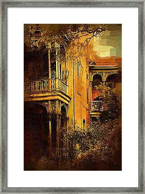 Old World Charm Framed Print