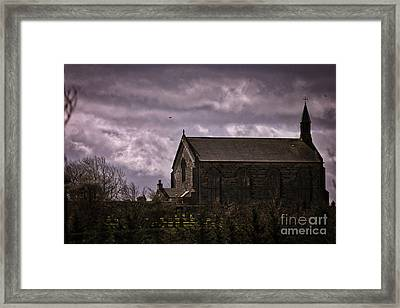 Old World Church Framed Print