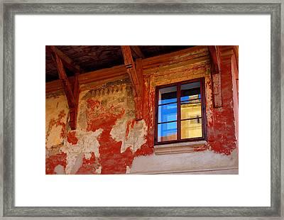 Old World Reflections Framed Print
