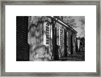 Old Wye Church Wye Mills Framed Print by Paul Yoder