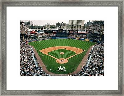 Old Yankee Stadium Photo Framed Print