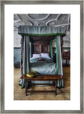 Olde Bedroom Framed Print by Ian Mitchell