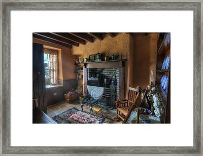 Olde Cottage Framed Print by Ian Mitchell