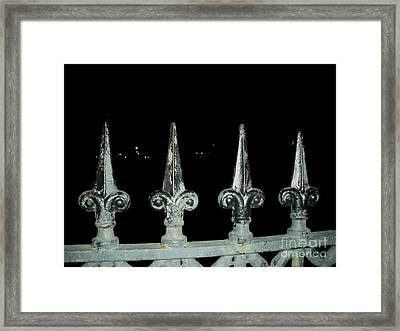 Framed Print featuring the photograph Olde Fence by Joseph Baril