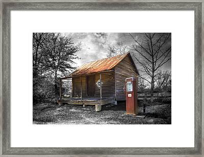 Olden Days Framed Print by Debra and Dave Vanderlaan