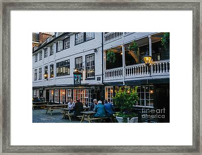 Oldest Coaching Inn In London Framed Print