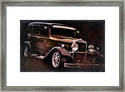 Old Car Framed Print featuring the photograph Oldie by Aaron Berg