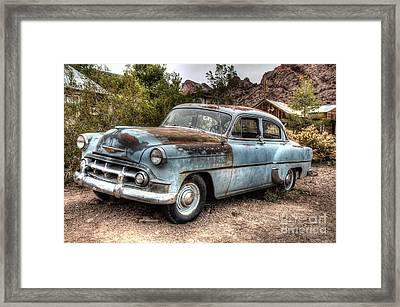 Oldie But A Goodie Framed Print by Eddie Yerkish