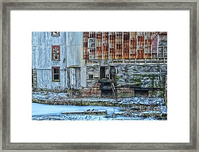 Oldmill Framed Print by Tamera James