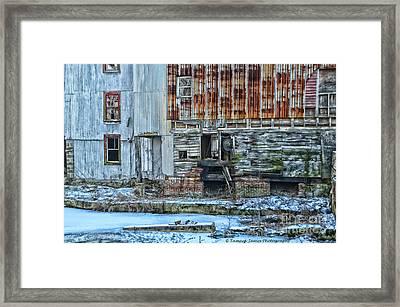 Oldmill Framed Print by Tamera James