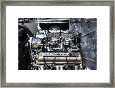 Olds Rocket Framed Print