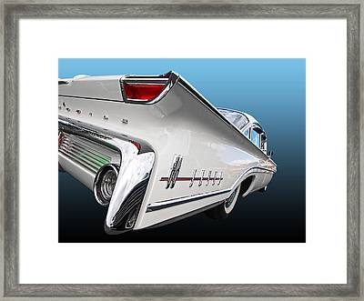 Olds Sixties Style - Super 88 Framed Print by Gill Billington