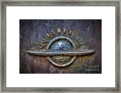 Oldsmobile Emblem #1 Framed Print