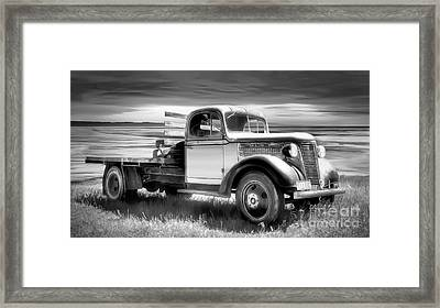 Oldsmobile Framed Print by Shannon Rogers