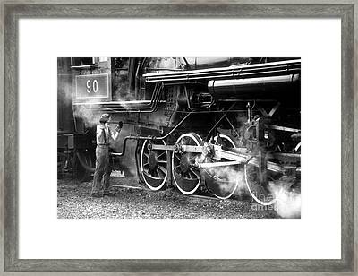 Framed Print featuring the photograph Ole #90 by ELDavis Photography