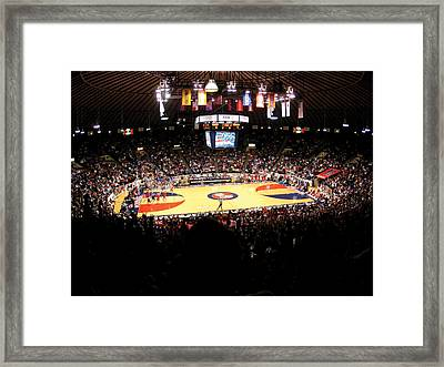 Ole Miss Rebels C.m. 'tad' Smith Coliseum Framed Print by Replay Photos