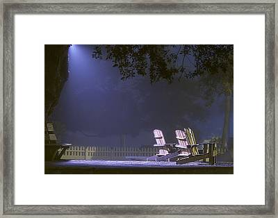 Saint Simons Summer Framed Print