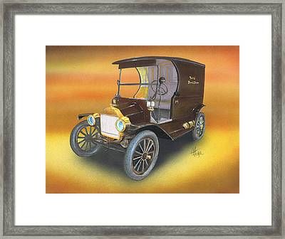 Ole' No 1 Framed Print by Chris Fraser