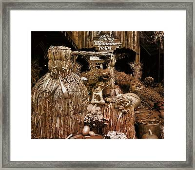 Ole Smoky Moonshine Holler In Autumn Framed Print