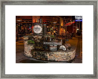 Ole Smoky Tennessee Moonshine Holler Framed Print by Rob Sellers
